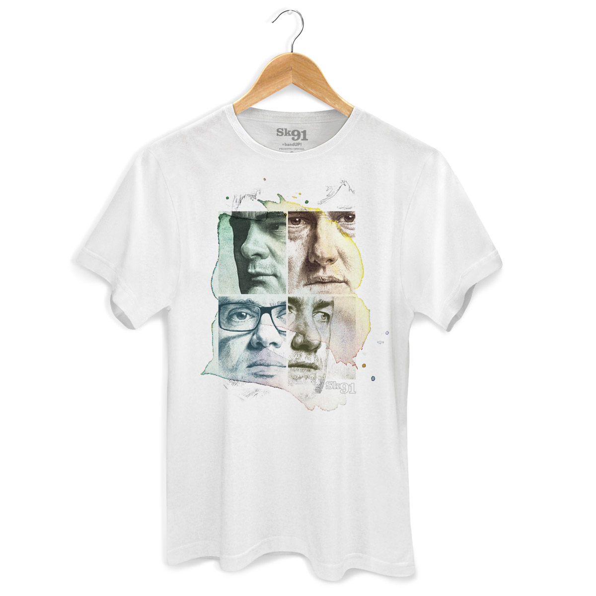 Camiseta Masculina Sk91 Capa