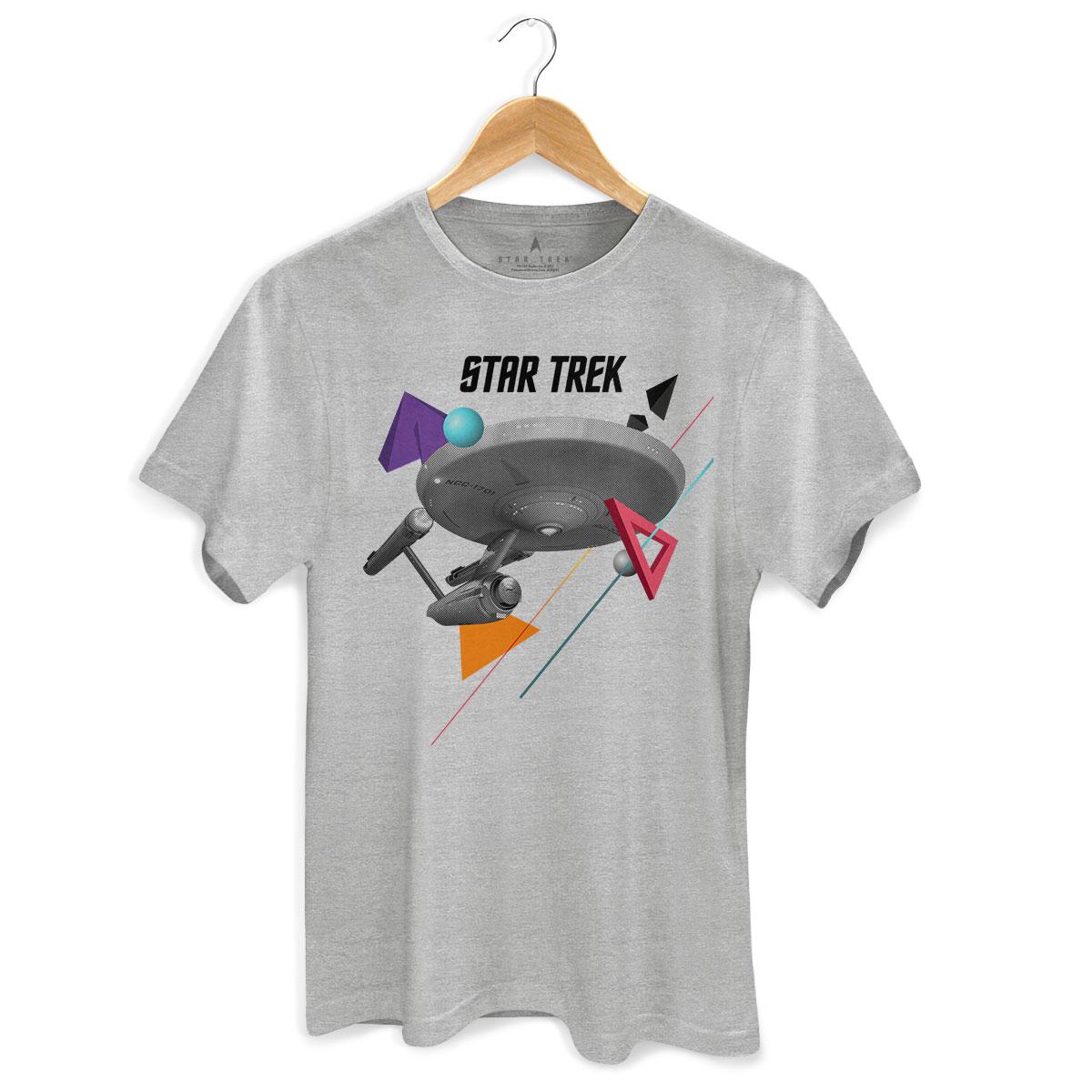 Camiseta Masculina Star Trek Enterprise