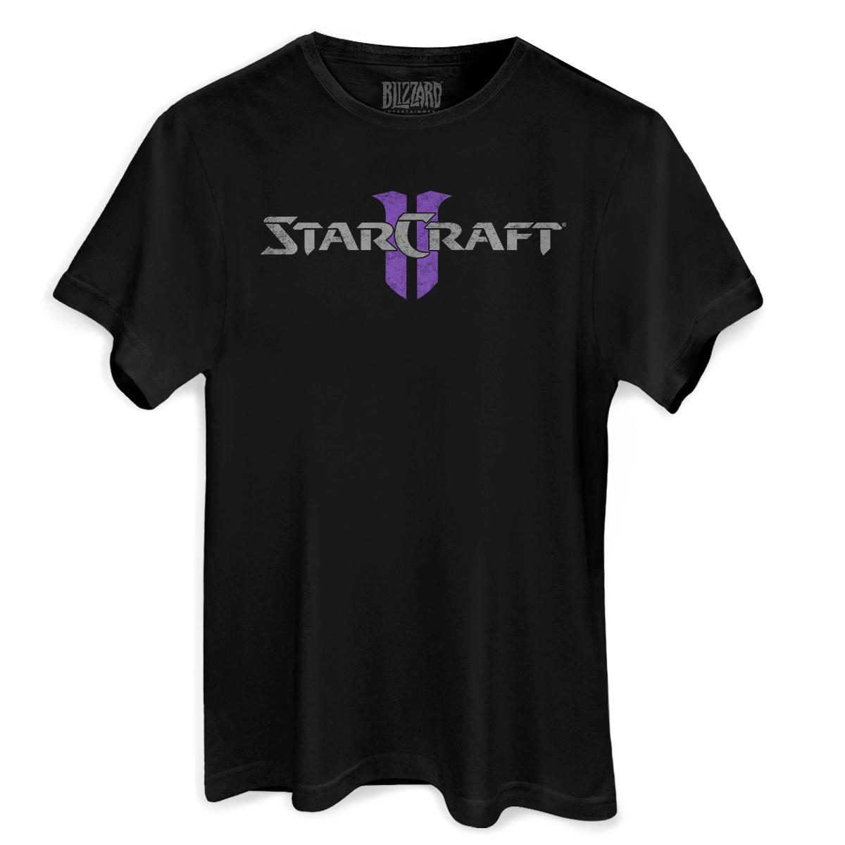 Camiseta Masculina Starcraft 2 Heart of the Swarm