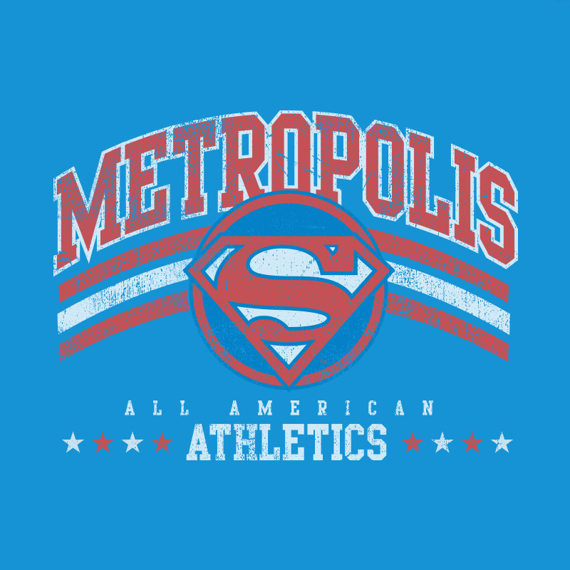 Camiseta Masculina Superman Metropolis All American Athletics