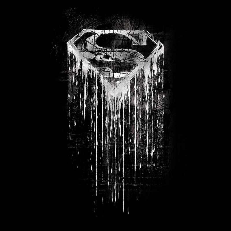 Camiseta Masculina Superman Steel Melting