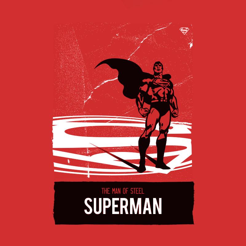 Camiseta Masculina Superman The Man Of Steel