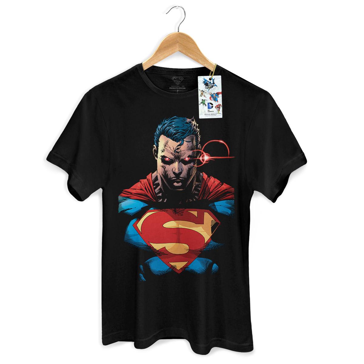 Camiseta Masculina Superman X-Ray Vision Colors