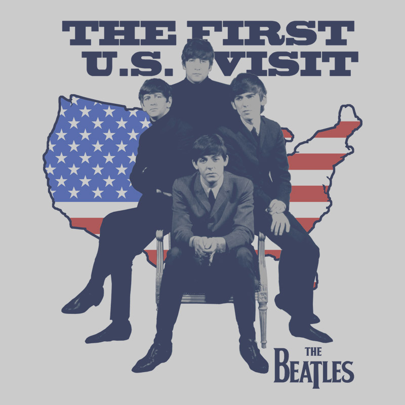 Camiseta Masculina The Beatles Maps