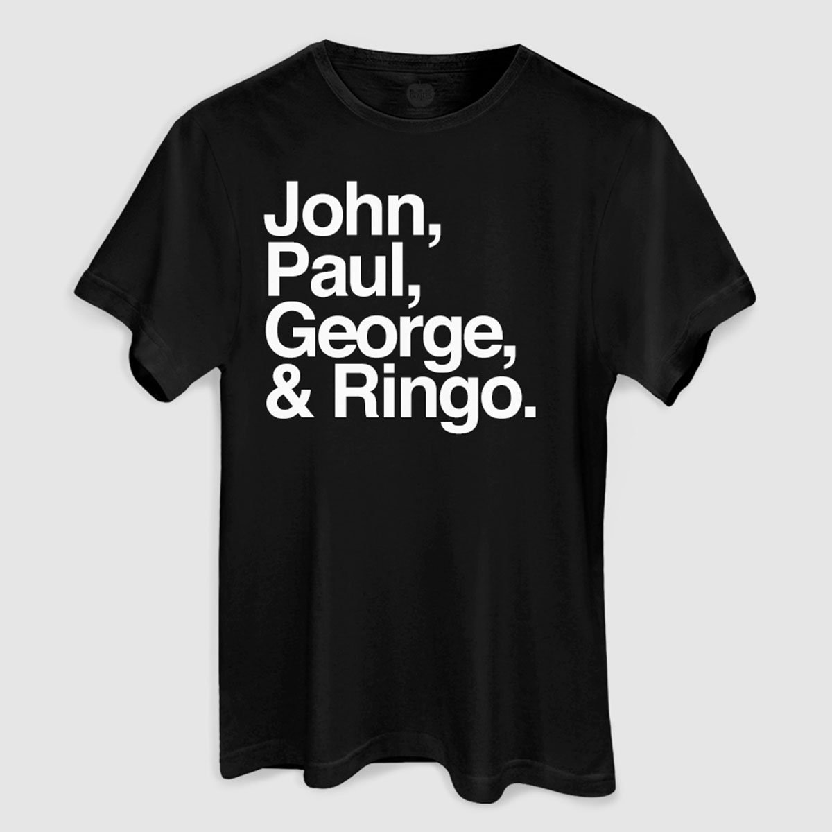 Camiseta Masculina The Beatles Names