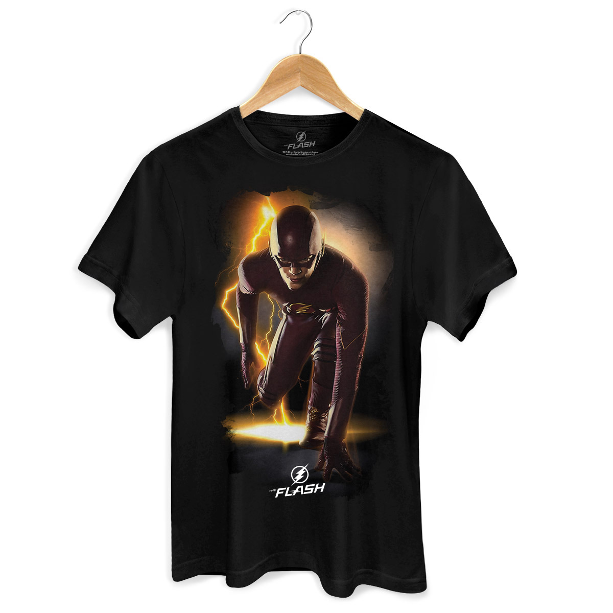 Camiseta Masculina The Flash Serie In Action