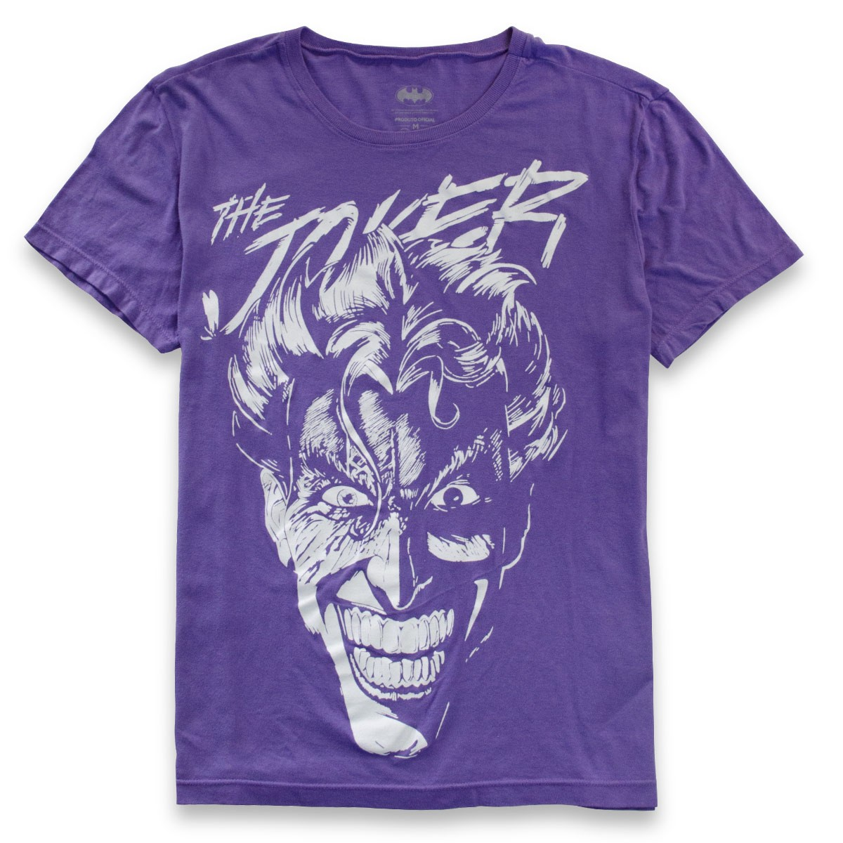 Camiseta Masculina The Joker Purple