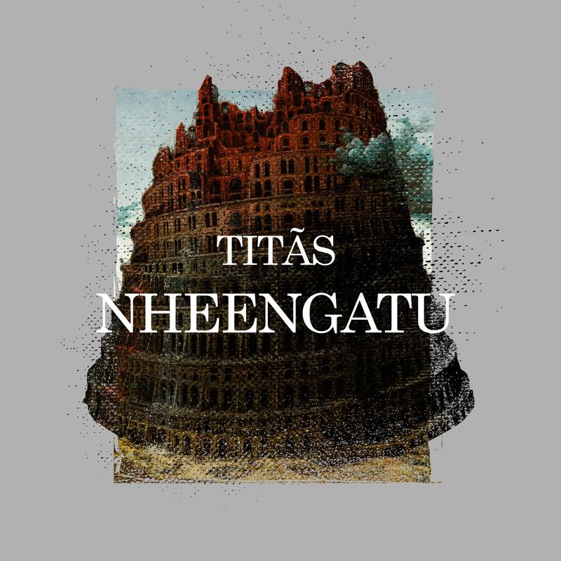 Camiseta Masculina Titãs Nheengatu Capa