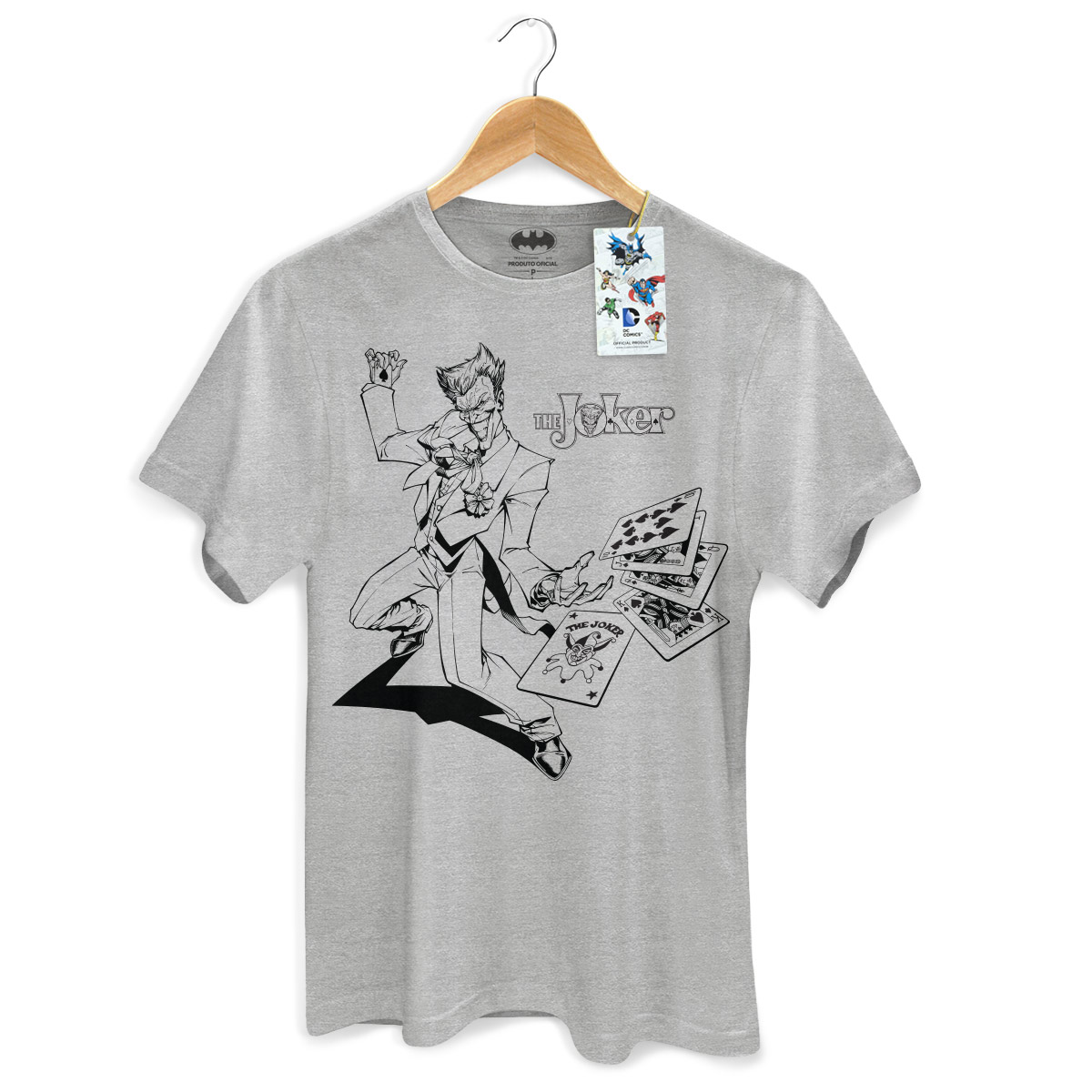 Camiseta Masculina Tracing The Joker