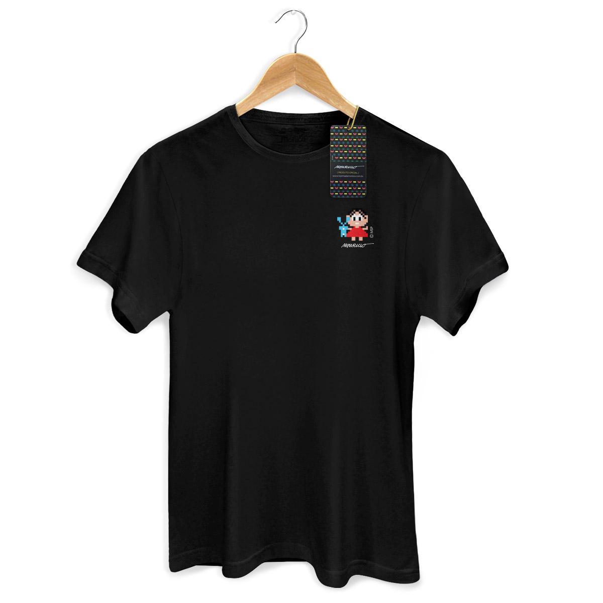 Camiseta Masculina Turma da Mônica 50 Anos Modelo 1 Anos 80