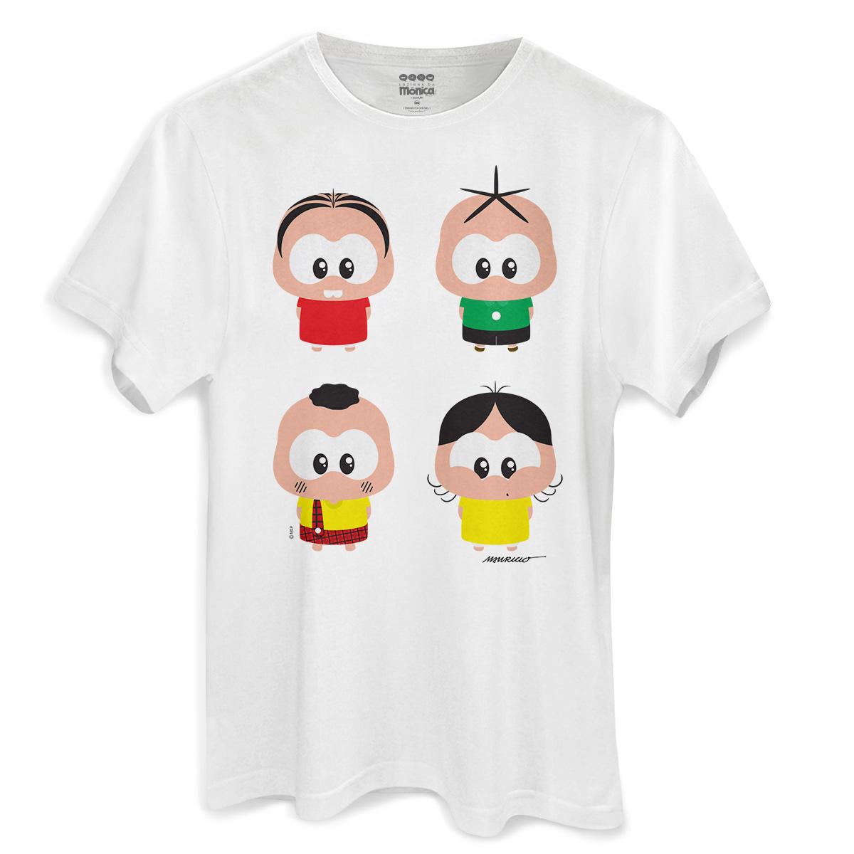 670bb06d72 Camiseta Masculina Turma da Mônica A Turma Toy