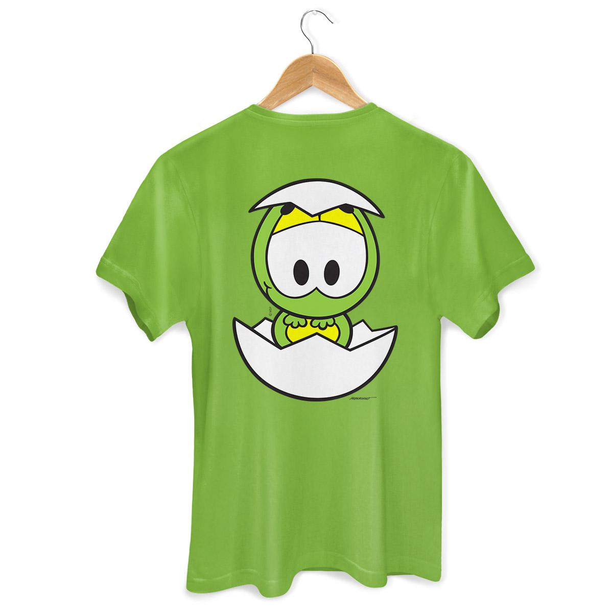 Camiseta Masculina Turma da Mônica Kids Olhões Horácio