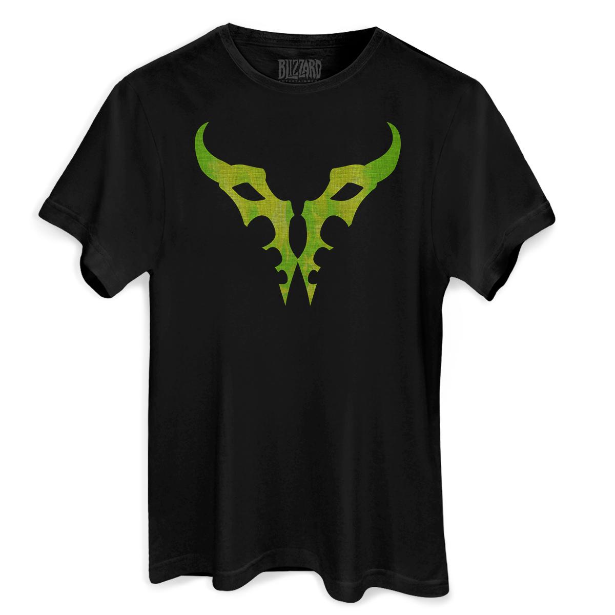 Camiseta Masculina World of Warcraft Burning Legion
