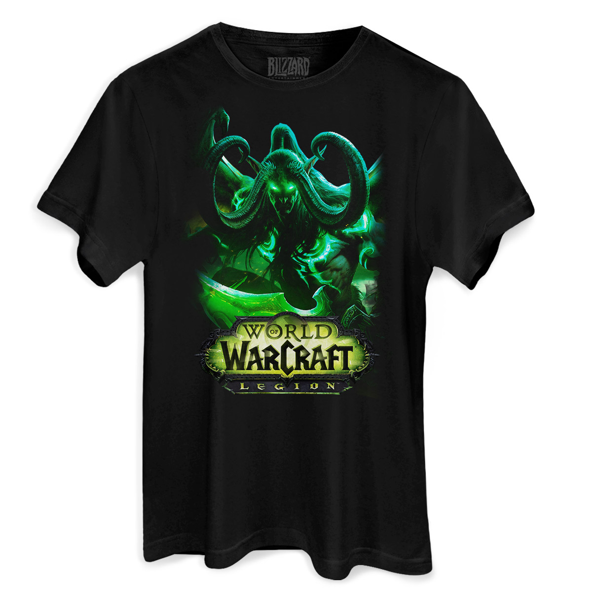 Camiseta Masculina World of Warcraft Illidan