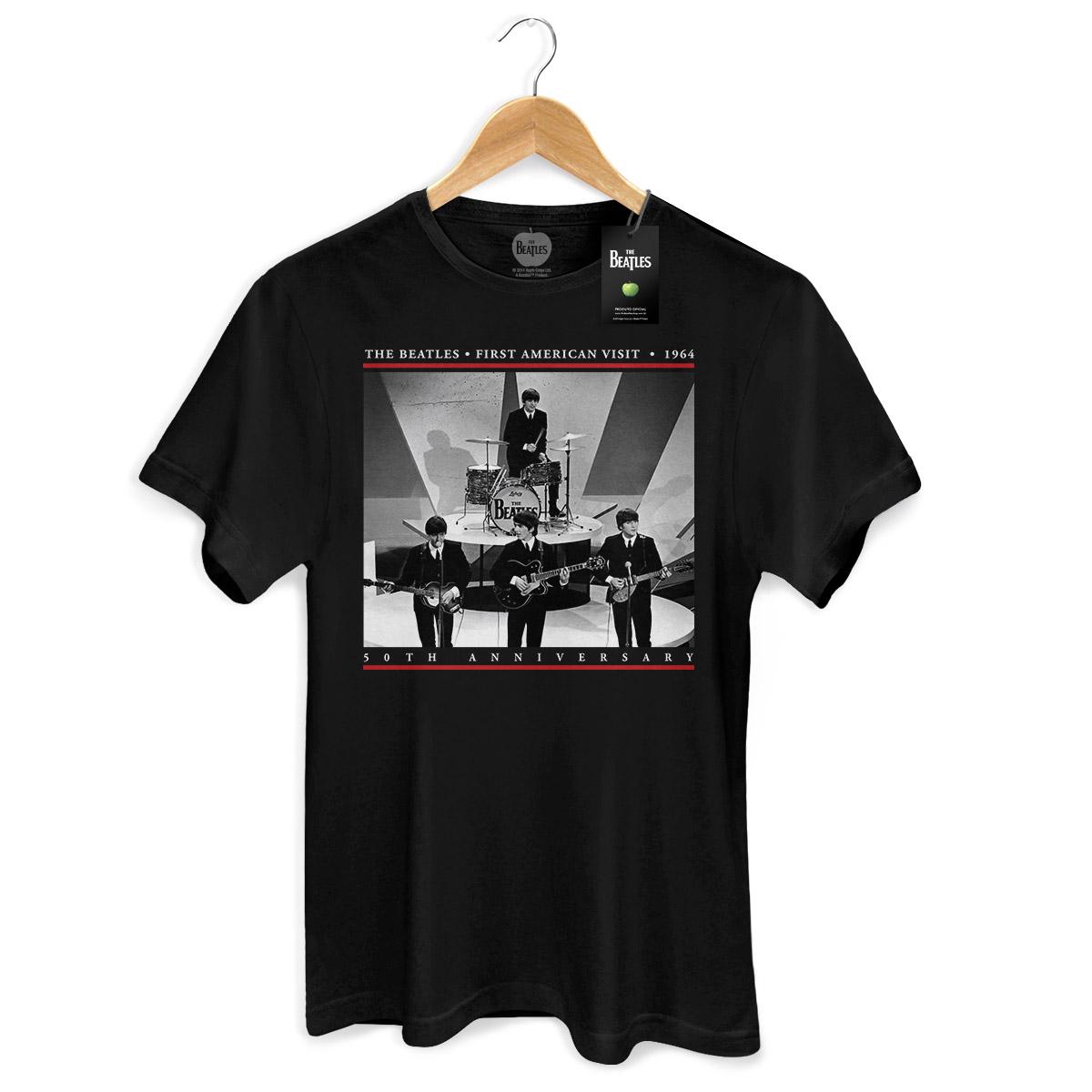 Camiseta Unissex The Beatles First American Visit 1964
