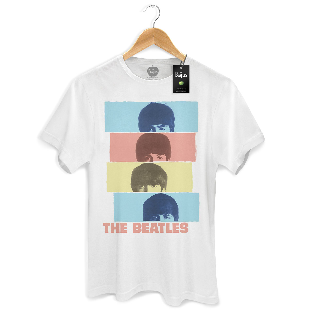 Camiseta Unissex The Beatles Head Shot