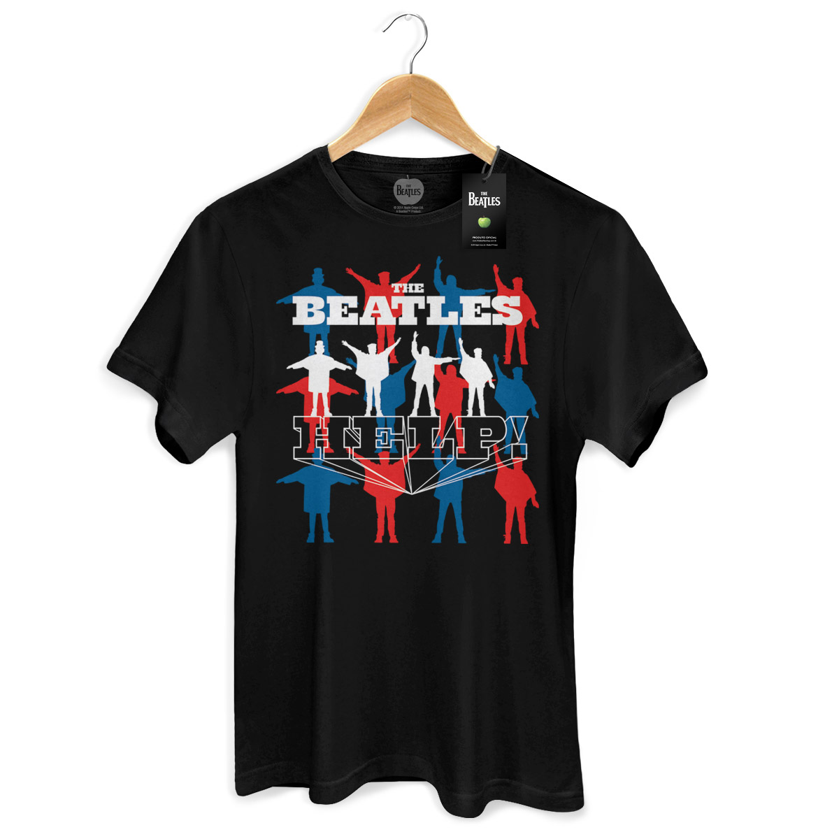 Camiseta Unissex The Beatles Help!