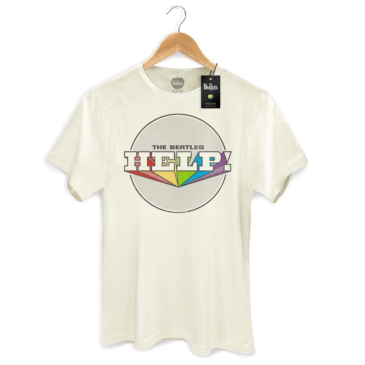 Camiseta Unissex The Beatles Help! 2
