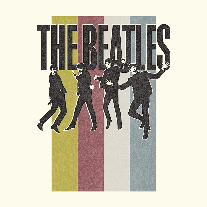 Camiseta Unissex The Beatles Jump