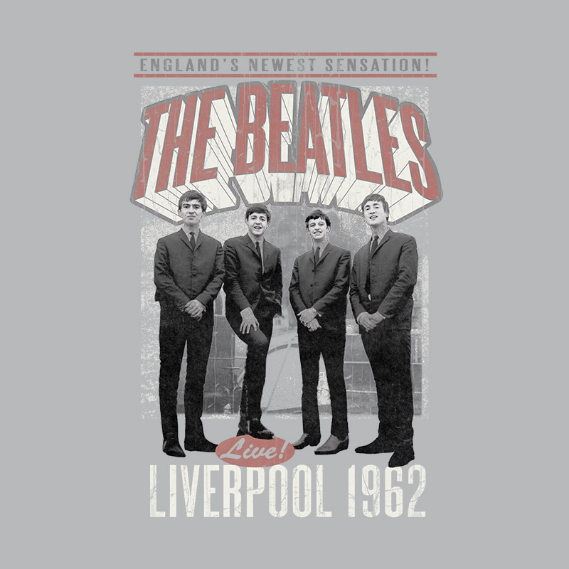 Camiseta Unissex The Beatles Liverpool 1962