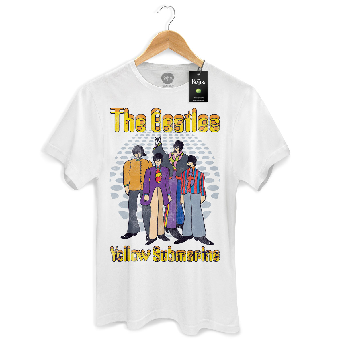 Camiseta Unissex The Beatles Yellow Submarine Classic