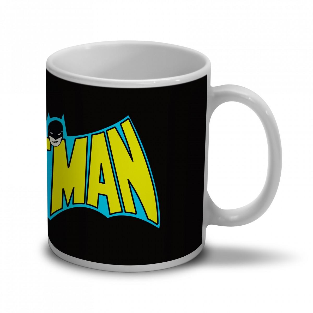 Caneca Batman Logo 60s
