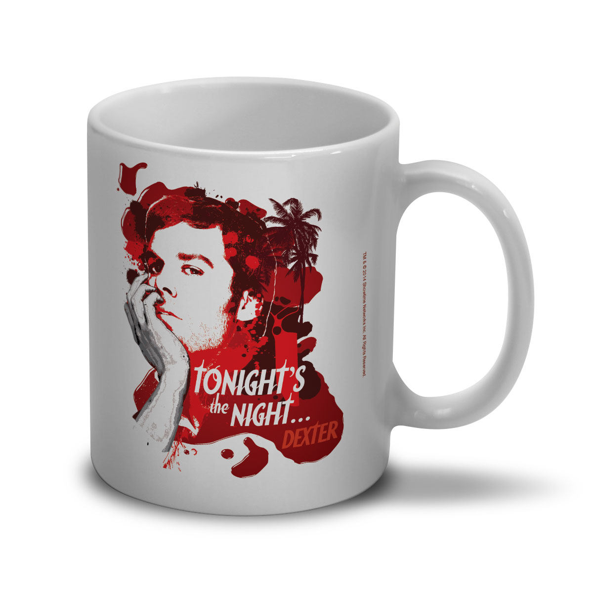 Caneca Dexter Tonight´s the Night