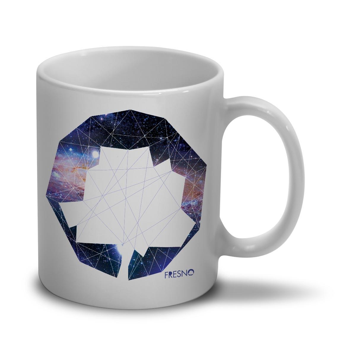Caneca Fresno Logo Galáxias