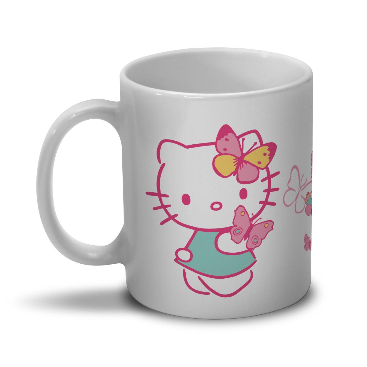 Caneca Hello Kitty Butterflies Dream