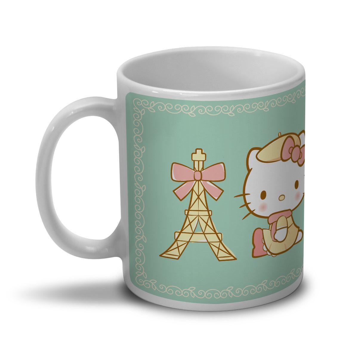 Caneca Hello Kitty Un Petit Cadeau de Paris