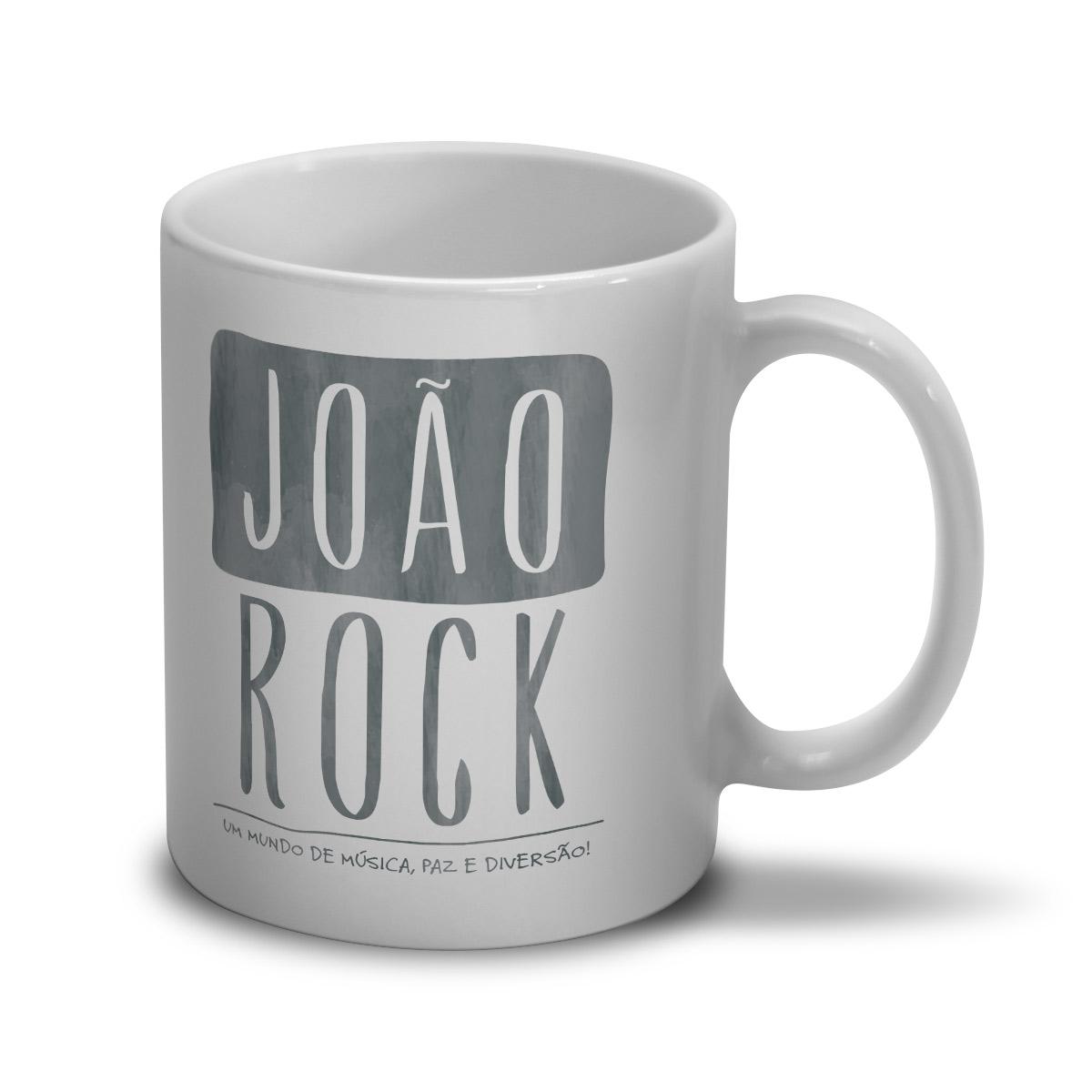 Caneca João Rock Um Mundo de Música