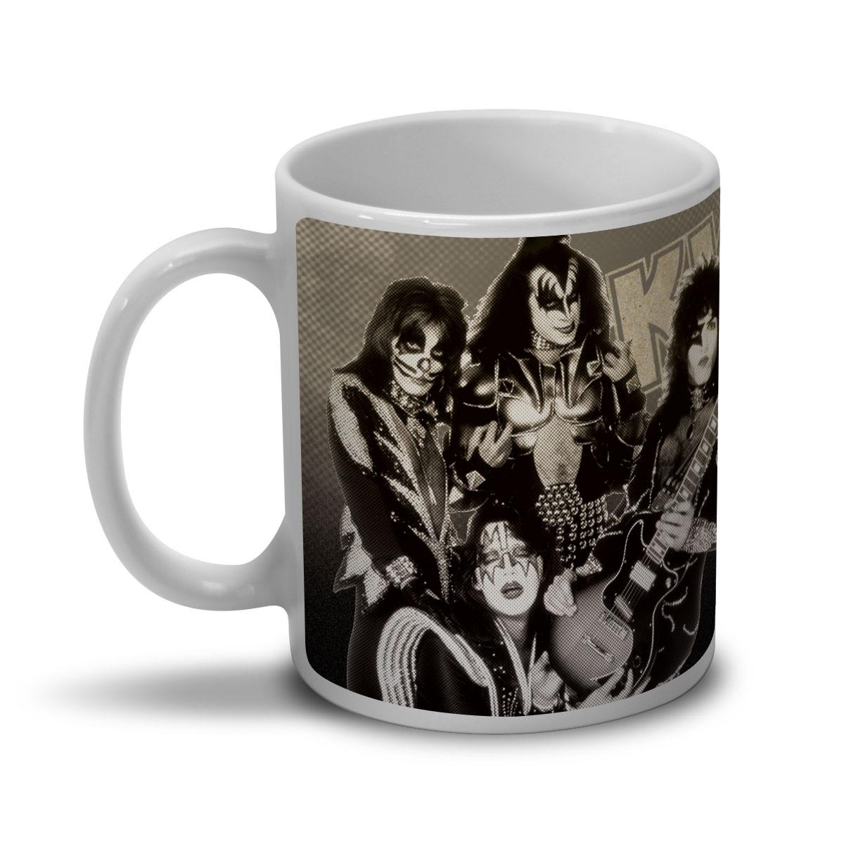 Caneca Kiss Rock Gods