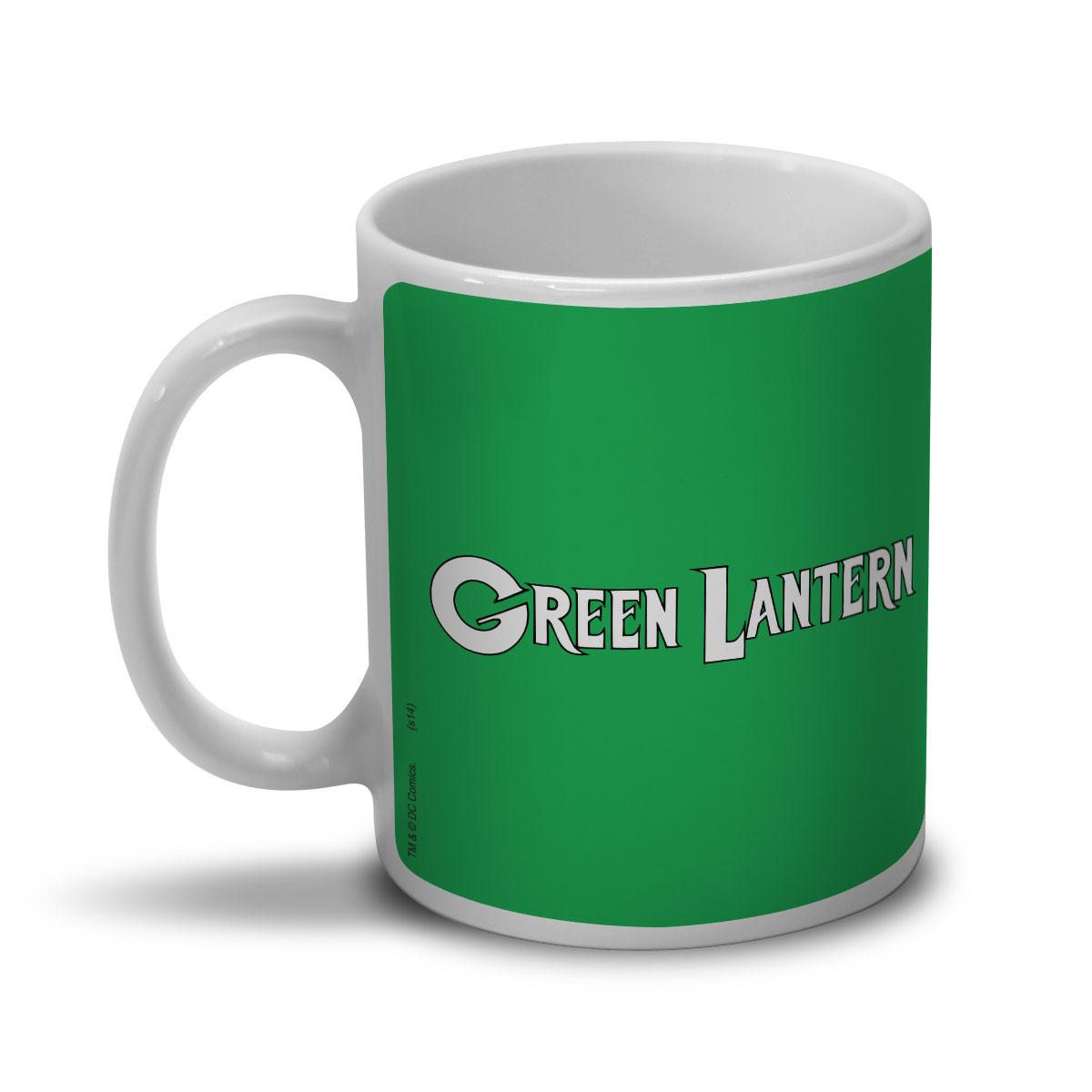 Caneca Lanterna Verde Logo