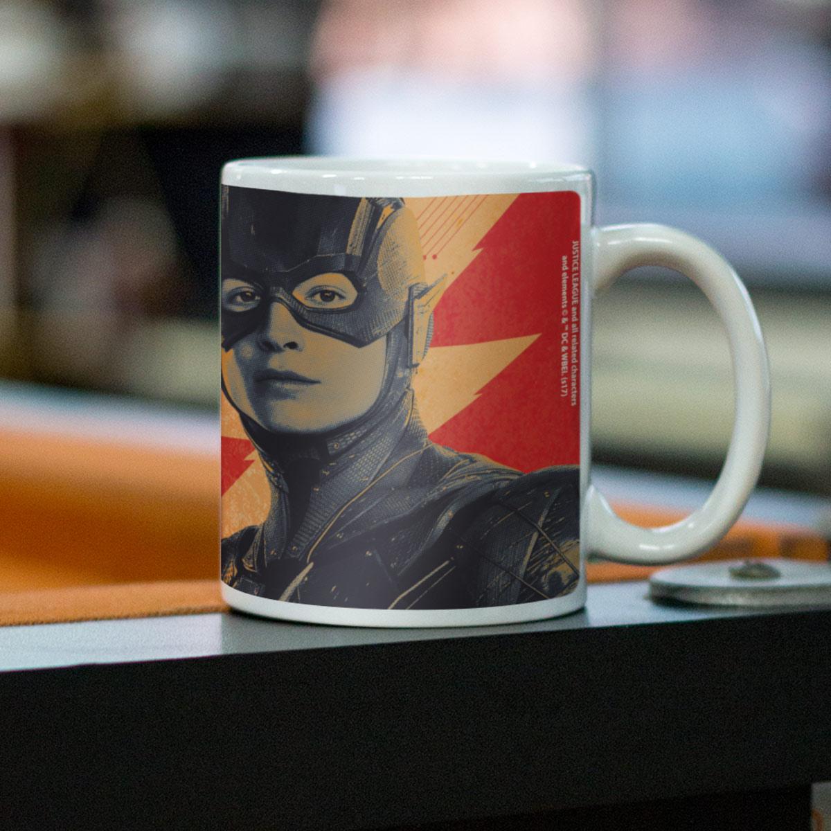 Caneca Liga da Justiça Flash Join The League