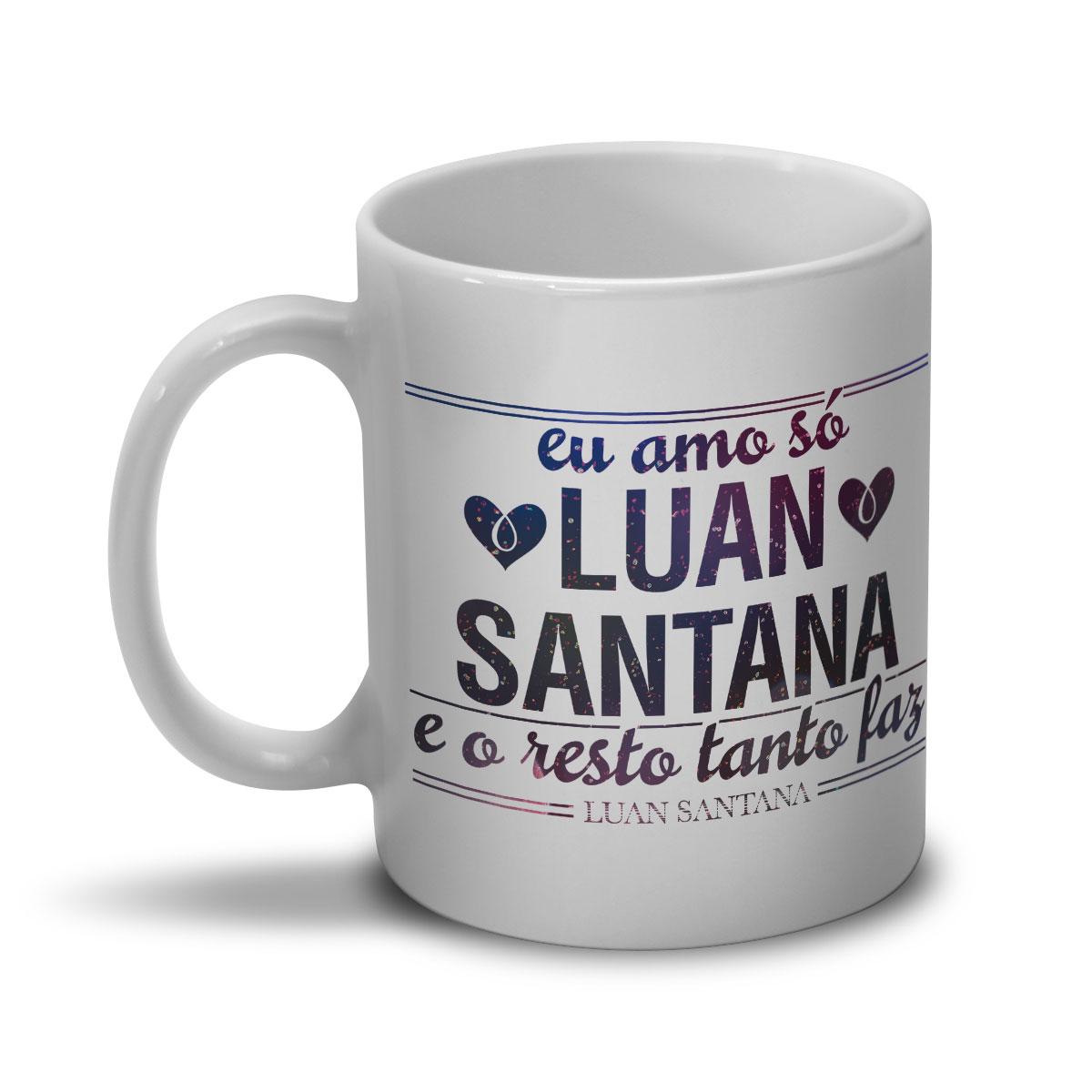Caneca Luan Santana Tanto Faz Foto