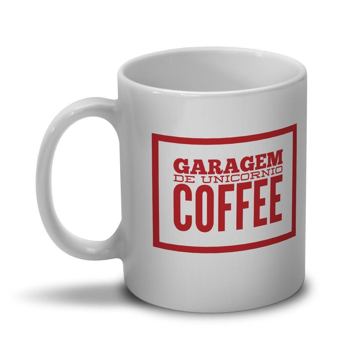 Caneca Monstra Maçã Garagem de Unicórnio Coffee
