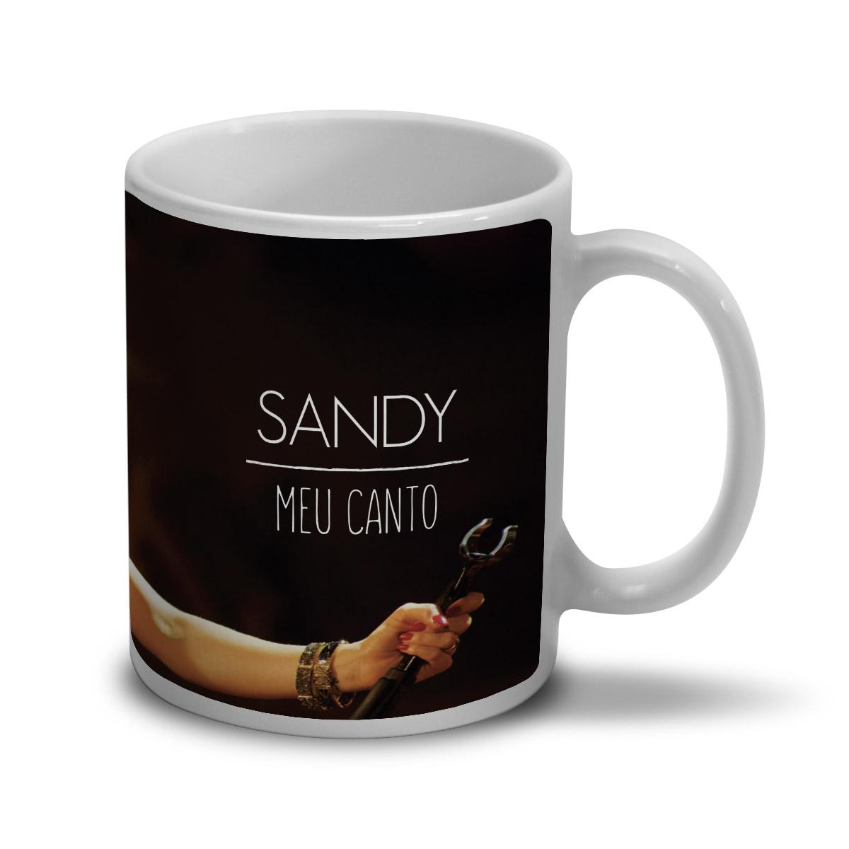 Caneca Sandy Meu Canto Capa