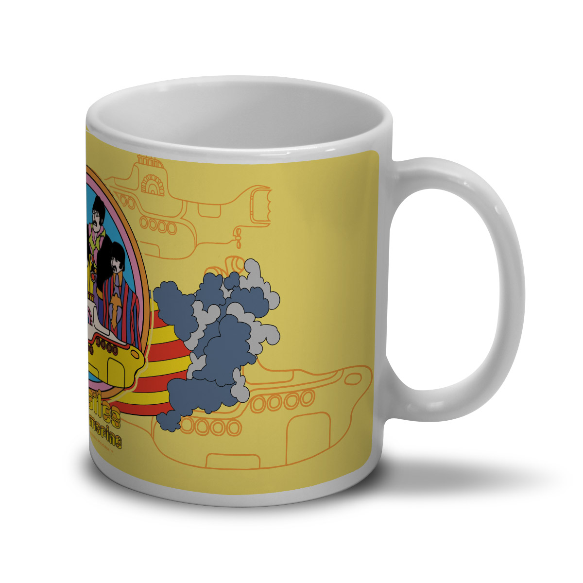 Caneca The Beatles Yellow Submarine