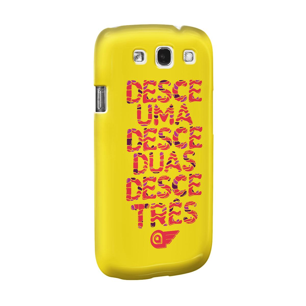 Capa de Celular Samsung Galaxy S3 Aviões do Forró Desce Duas