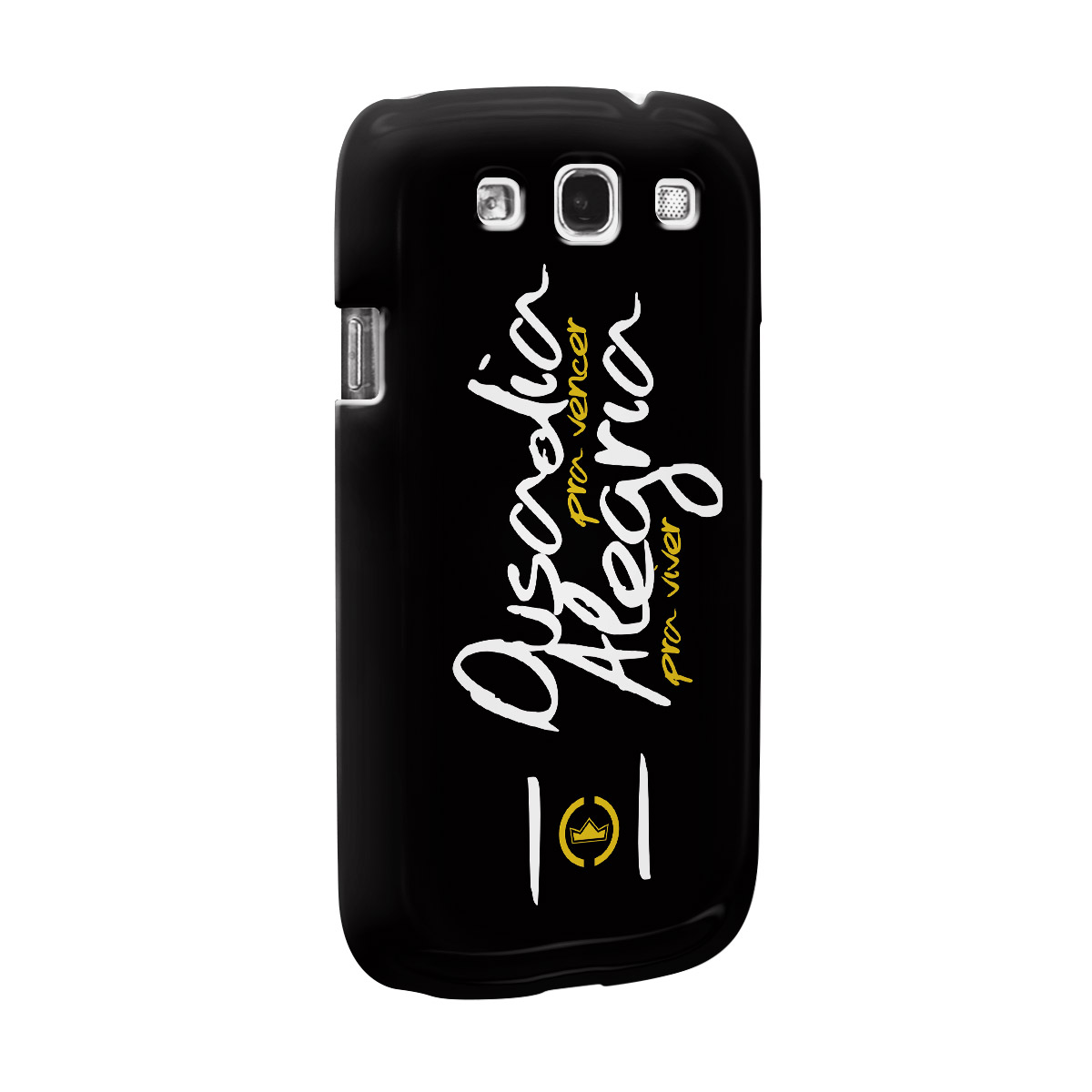 Capa de Celular Samsung Galaxy S3 Thiaguinho Ousadia Pra Vencer