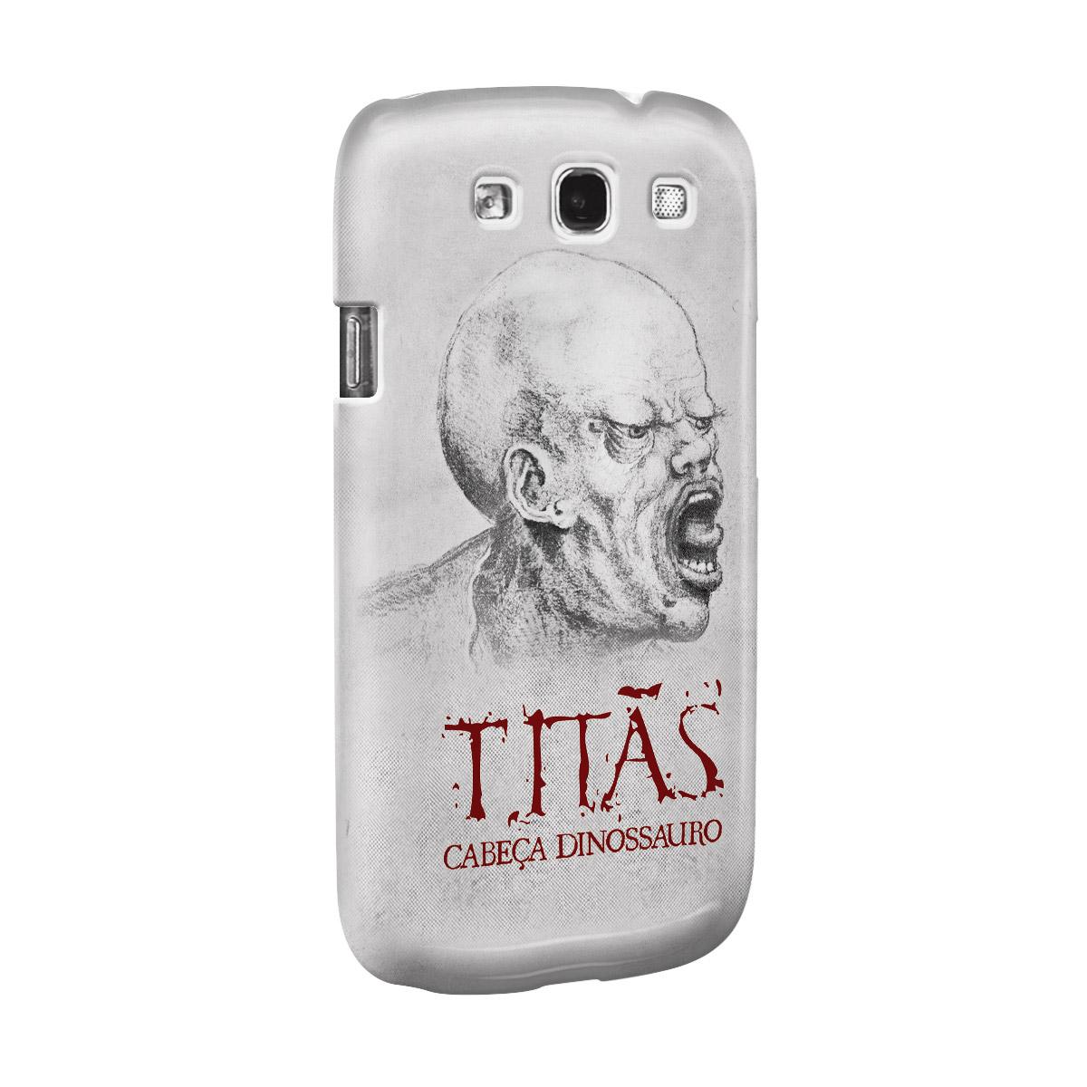 Capa de Celular Samsung Galaxy S3 Titãs Cabeça Dinossauro