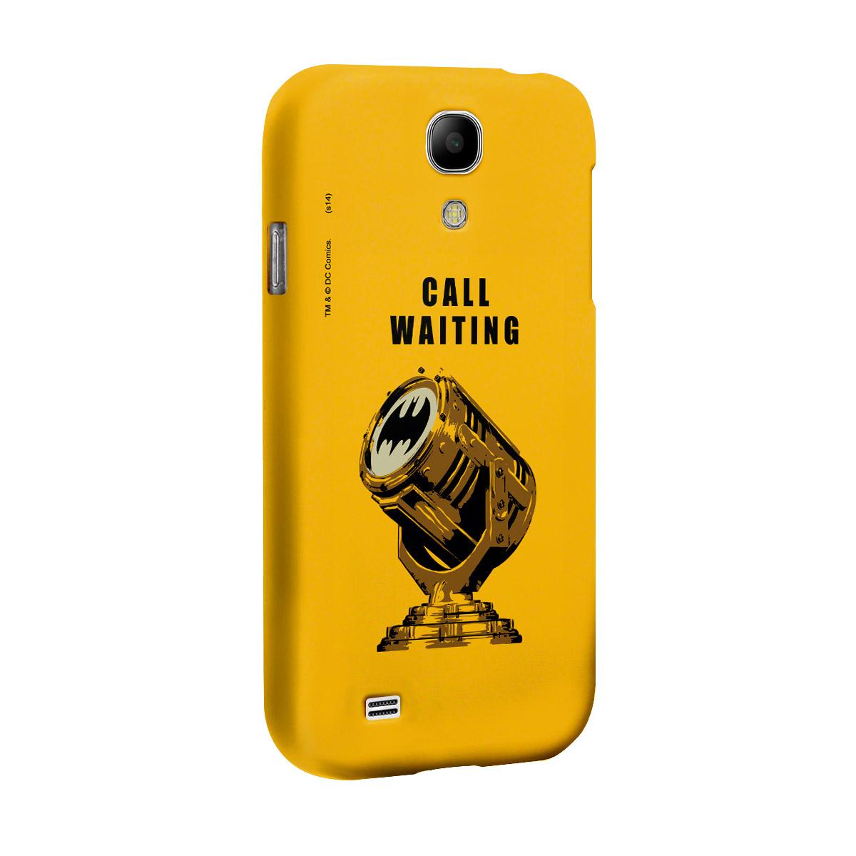 Capa de Celular Samsung Galaxy S4 Batman Chamada em Espera