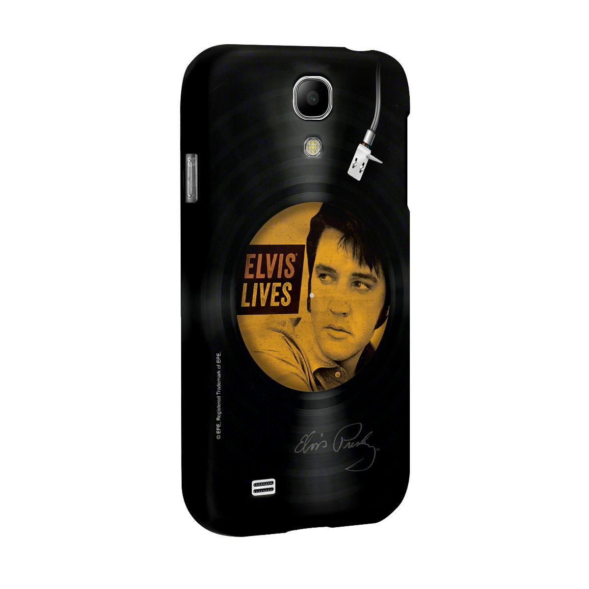 Capa de Celular Samsung Galaxy S4 Elvis Lives Vinyl