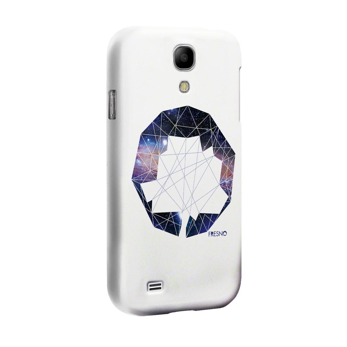 Capa de Celular Samsung Galaxy S4 Fresno Logo Galáxias