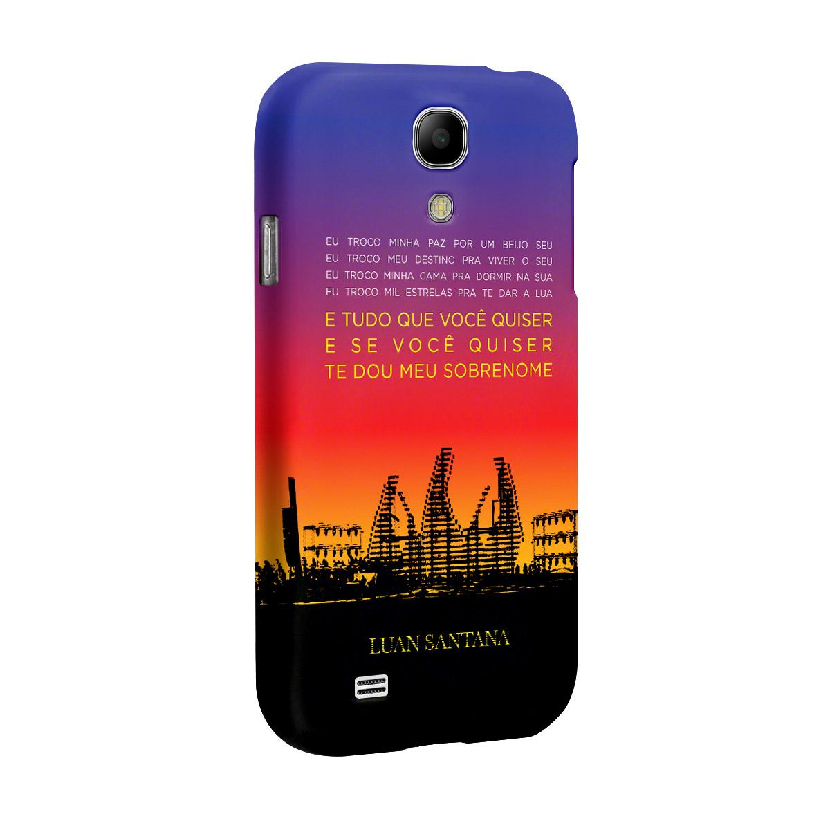 Capa de Celular Samsung Galaxy S4 Luan Santana Concept