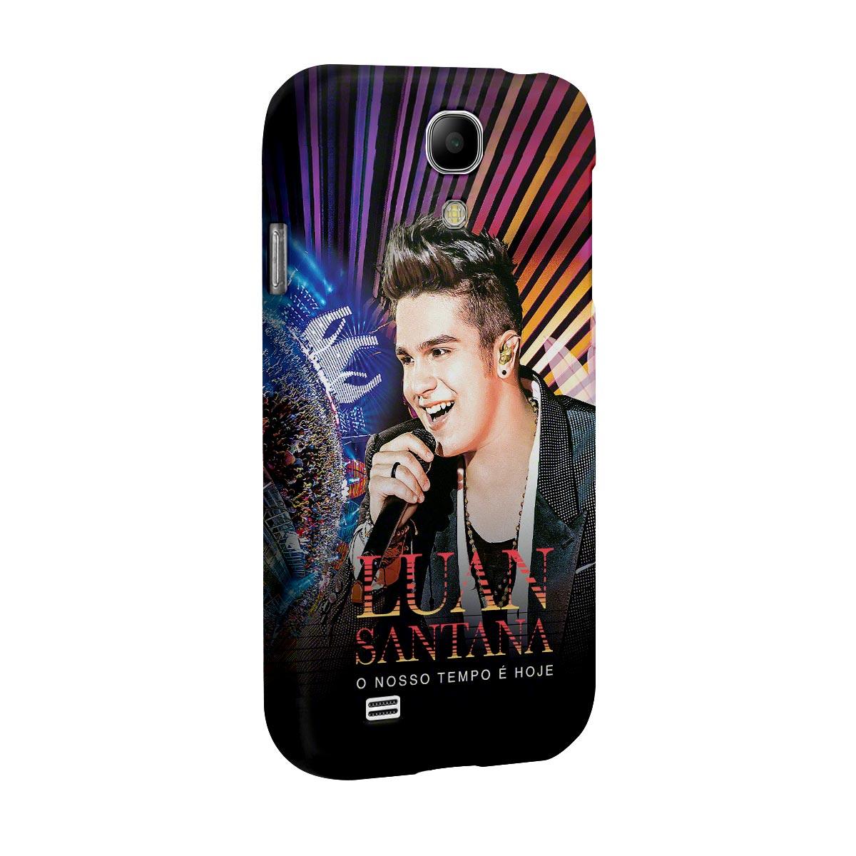 Capa de Celular Samsung Galaxy S4 Luan Santana O Nosso Tempo é Hoje