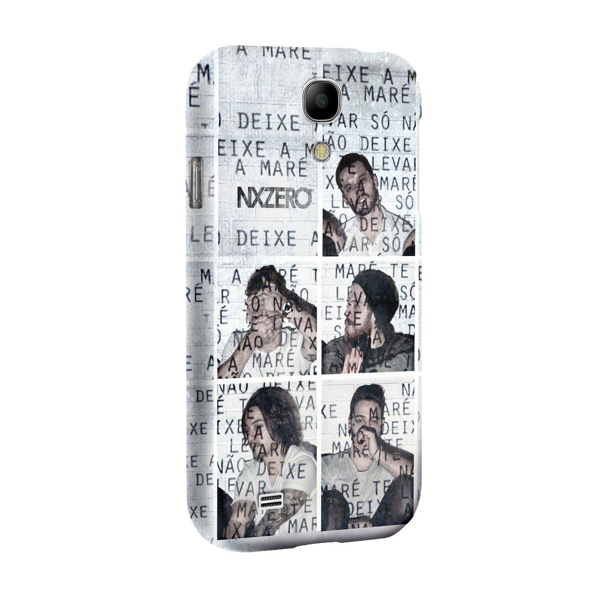 Capa de Celular Samsung Galaxy S4 NXZero Não Deixe a Maré Te Levar