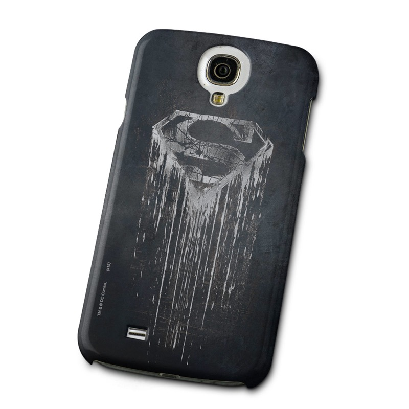 Capa de Celular Samsung Galaxy S4 Superman Steel Melting