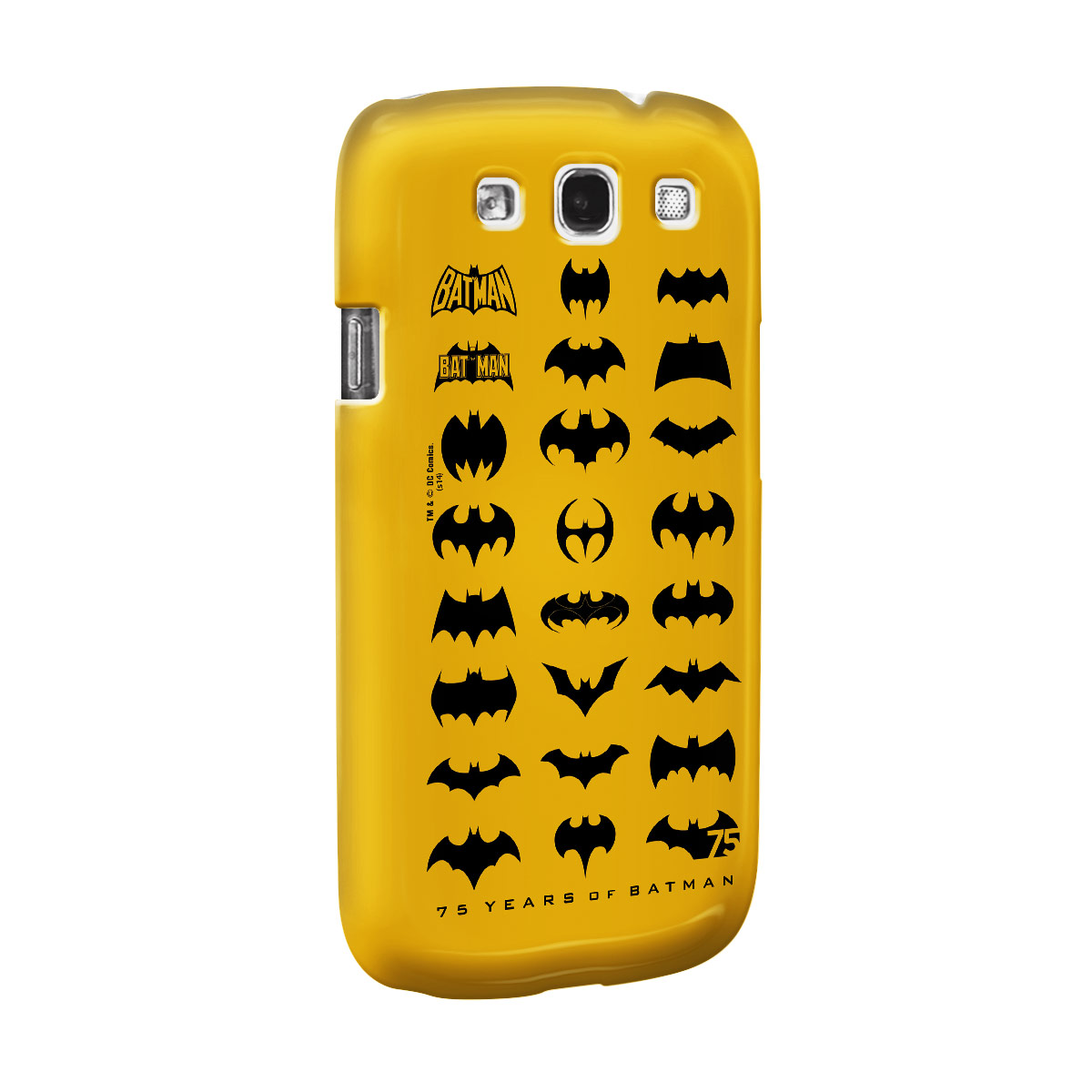 Capa de Celular Samsung S3 Batman 75 Anos Logos Collection