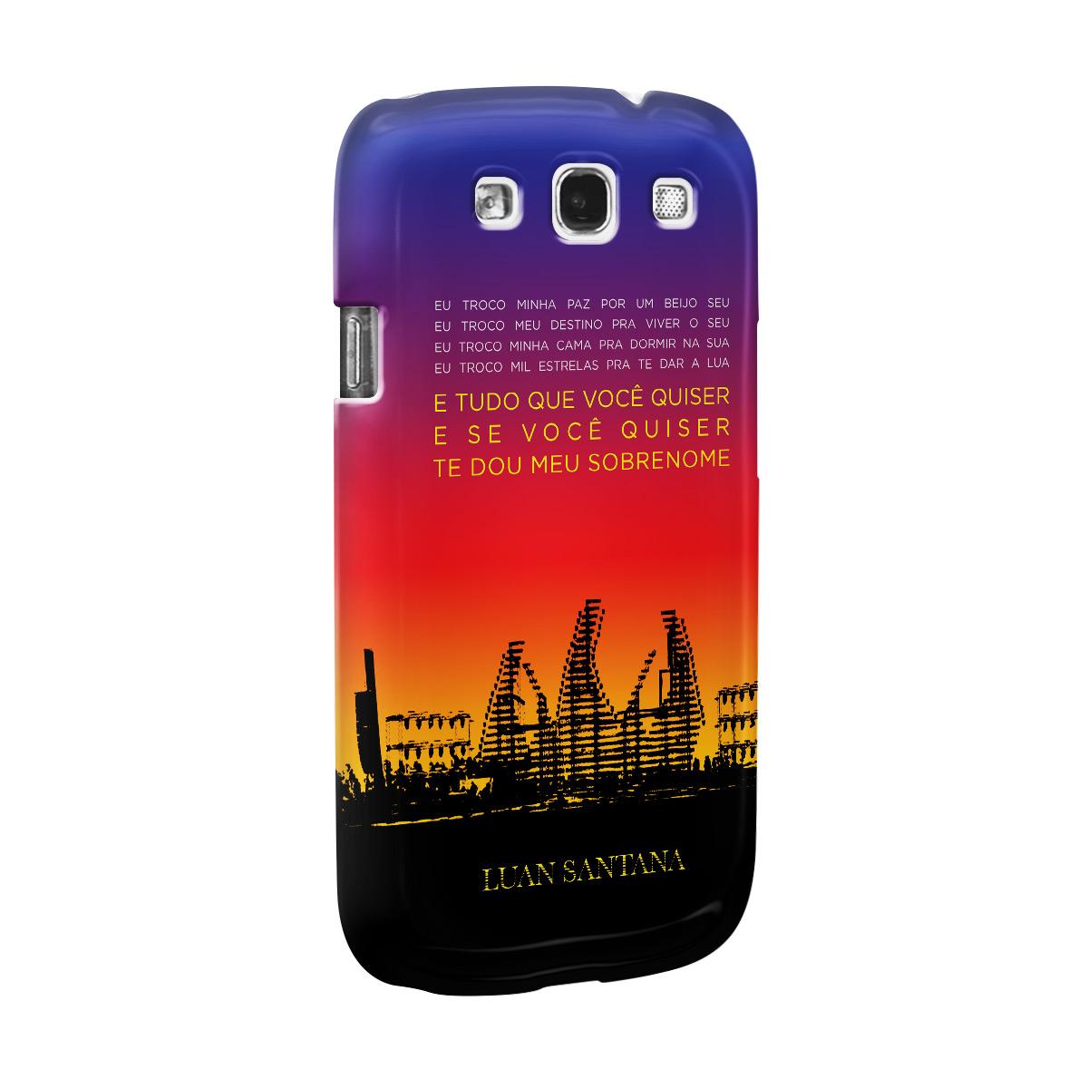 Capa de Celular Samsung S3 Luan Santana Concept